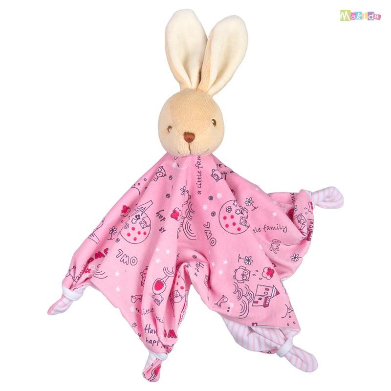 Maximo schnuffeltuch kuscheltuch babyspielzeug hase rosa