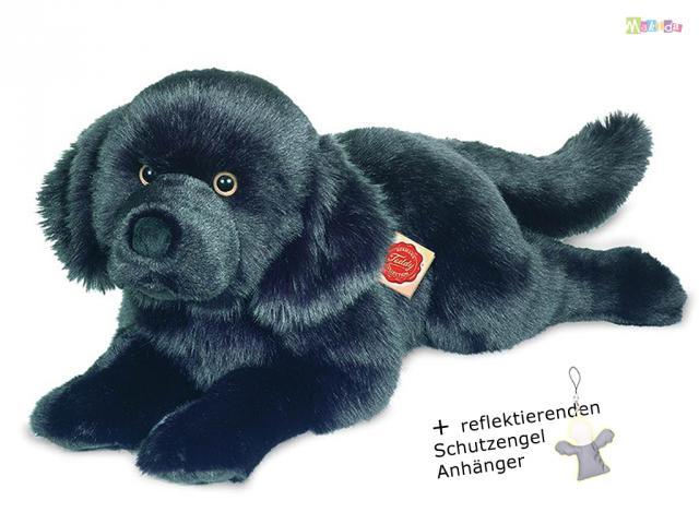 teddy hermann gro er weicher neufundl nder pl schtier hund. Black Bedroom Furniture Sets. Home Design Ideas