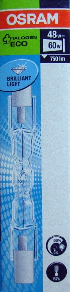 osram haloline eco 64684 r7s 230v 48w 60w halogen lamp 78mm 64684eco ebay. Black Bedroom Furniture Sets. Home Design Ideas