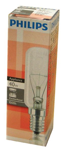 philips dunstabzugshaubenlampe e14 40watt t25l 420lm ebay. Black Bedroom Furniture Sets. Home Design Ideas