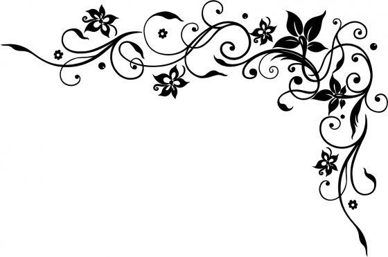 wandtatoo blumenranke r1353 ranke wandaufkleber spr che spruch zitat ebay. Black Bedroom Furniture Sets. Home Design Ideas
