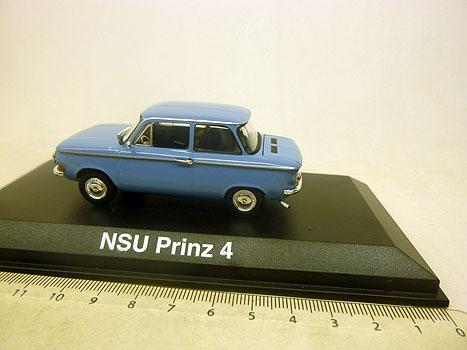 831009 norev 1 43 nsu prinz 4 1963 blue ebay. Black Bedroom Furniture Sets. Home Design Ideas