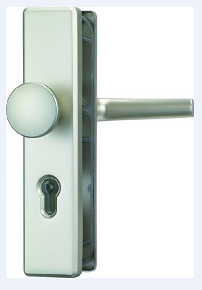 08306 abus hls214 schutzbeschlag 92mm wechselgarnitur. Black Bedroom Furniture Sets. Home Design Ideas