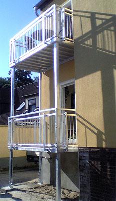 balkon 3m 1 5m balkonanlage erfurt balkonanlagen stahl verzinkt ohne montage ebay. Black Bedroom Furniture Sets. Home Design Ideas