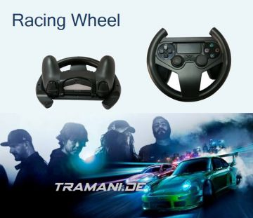 lenkrad f r ps4 controller racing wheel playstation ps 4. Black Bedroom Furniture Sets. Home Design Ideas