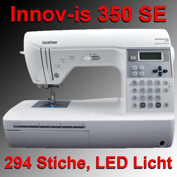 brother innov is 350 special edition n hmaschine 350se ebay. Black Bedroom Furniture Sets. Home Design Ideas