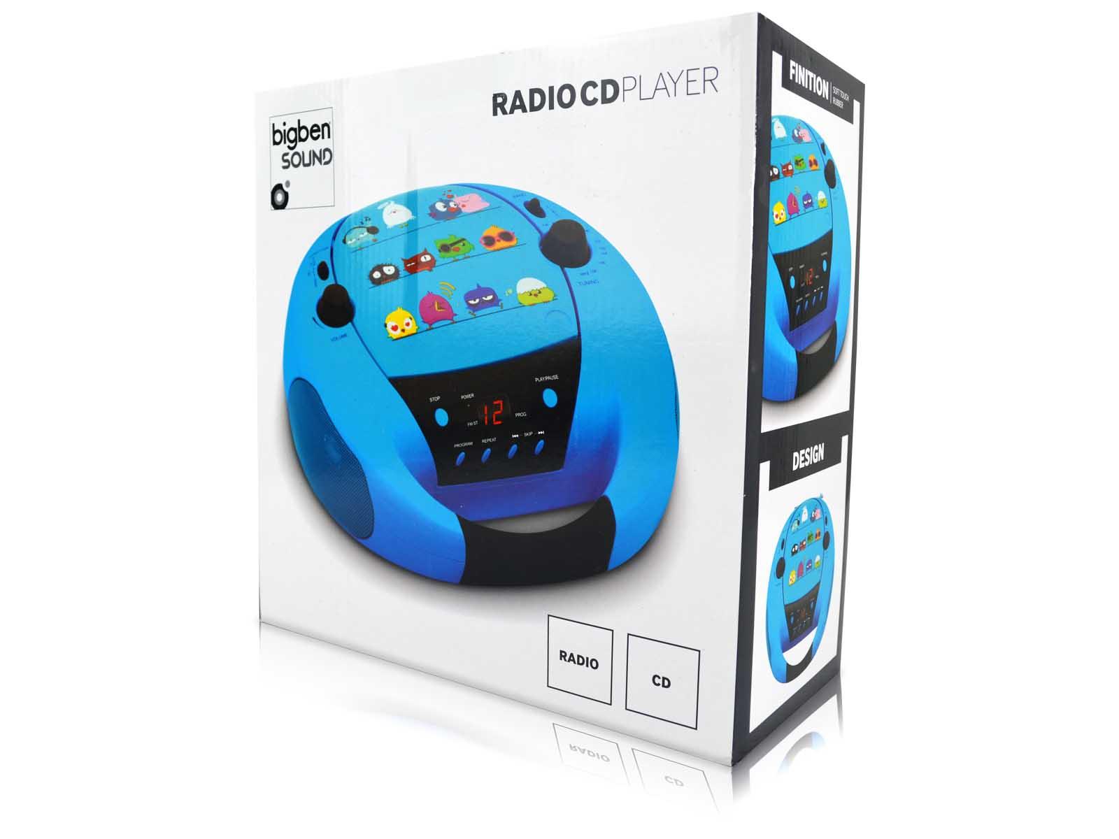 bigben radio cd player tragbar kinder kids v gel birds cd52 neu ovp ebay. Black Bedroom Furniture Sets. Home Design Ideas