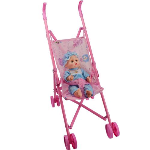 Baby puppe buggy kinderwagen set spielzeug kinder