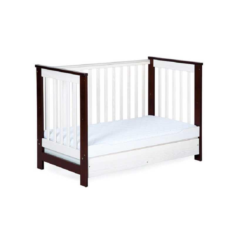baby bett babybett umbaubar bei schiene massiv kolonial. Black Bedroom Furniture Sets. Home Design Ideas