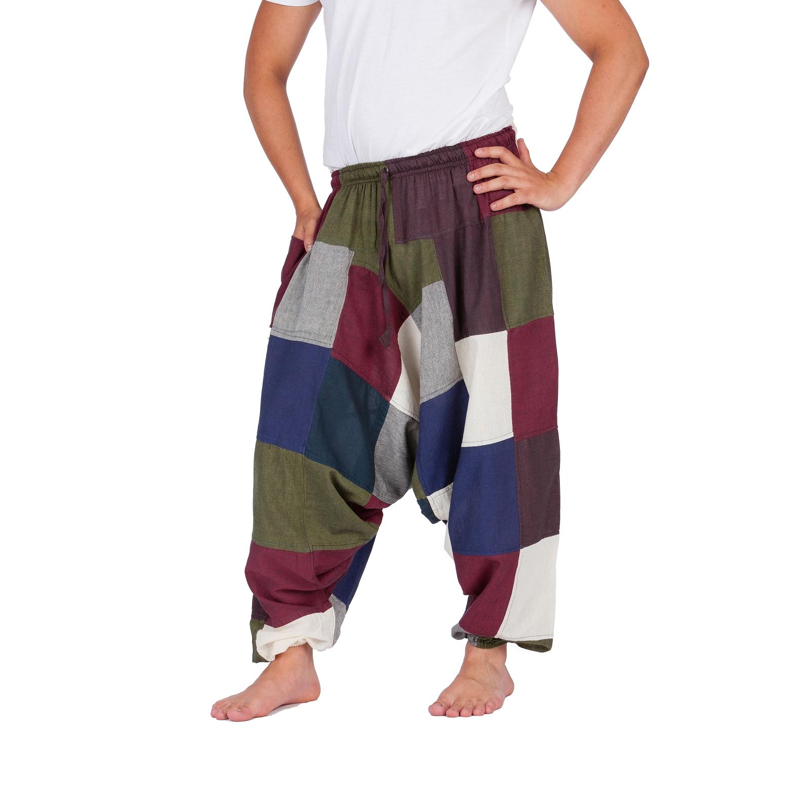 Nepal Shop Augsburg : pumphose haremshose ballonhose aladinhose patchwork pluderhose baumwolle s xl ebay ~ Watch28wear.com Haus und Dekorationen