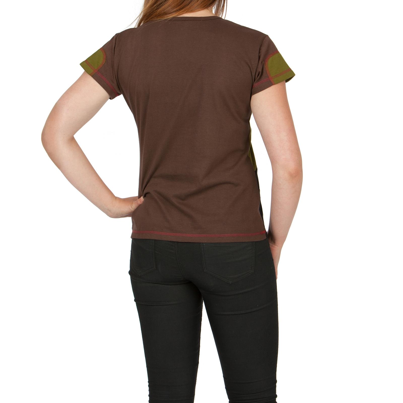 shirt top damenshirt ethno t shirt kurzarm oberteil hippie sommer baumwolle s xl ebay. Black Bedroom Furniture Sets. Home Design Ideas