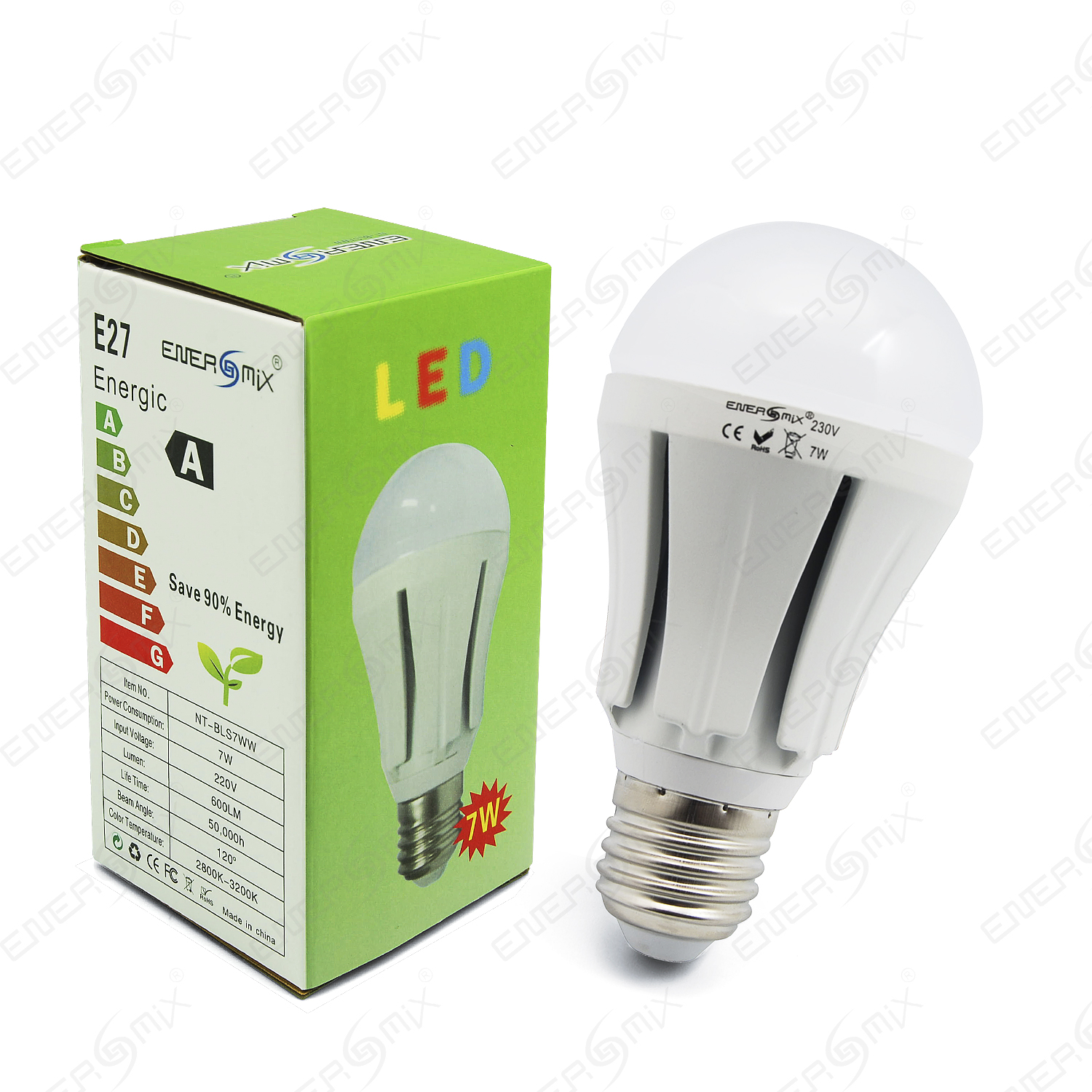 energmix e27 led lampe led birne leuchtmittel bulb. Black Bedroom Furniture Sets. Home Design Ideas