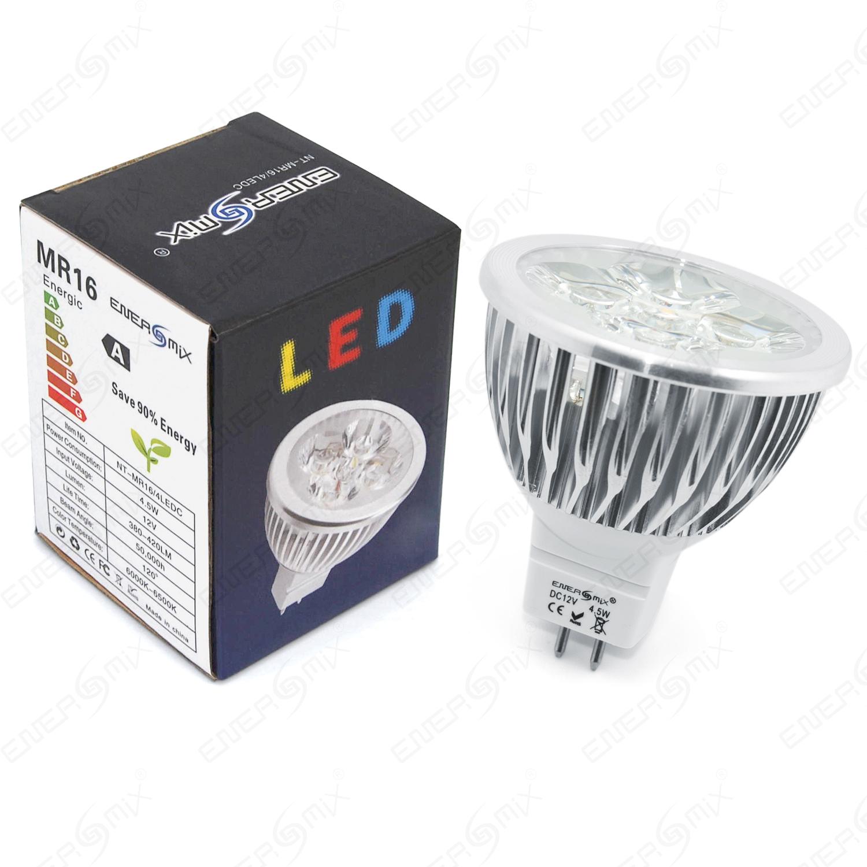 mr 16 gu5 3 spot led lampe leuchtmittel warmwei oder kaltwei 4 5 watt ebay. Black Bedroom Furniture Sets. Home Design Ideas