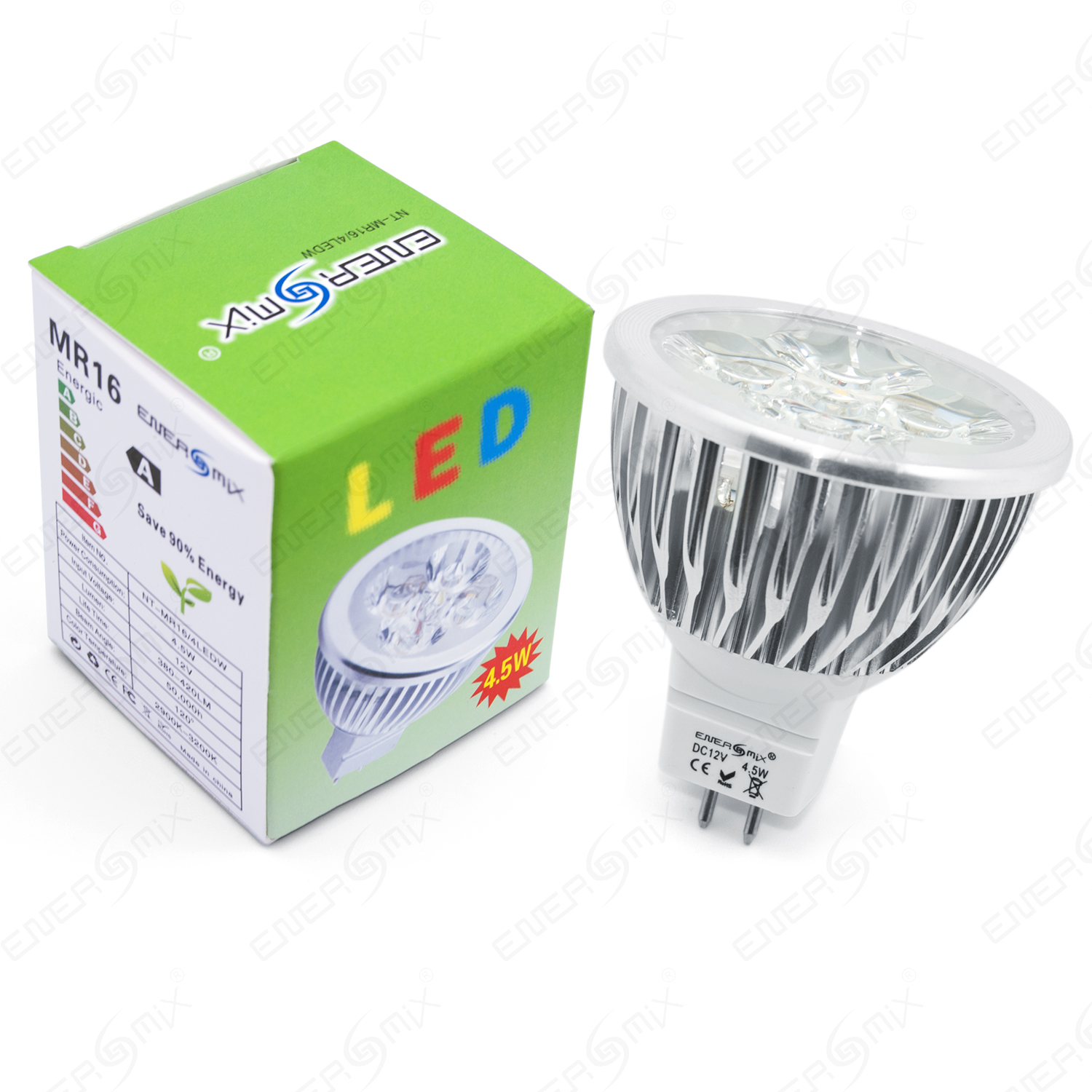led spot mr16 gu 5 3 spot lampe leuchtmittel sparlampe 12 volt 4 5w. Black Bedroom Furniture Sets. Home Design Ideas