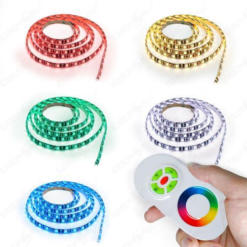 8m-10m-15m-LED-RGB-Strip-Streifen-Set-60-LEDs-pro-Meter-mit-Touch-Fernbedienung