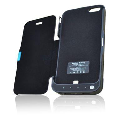 Zusatzakku Externe Batterie Ladegerät Tasche Akku Hülle für iPhone 5 4200mAh