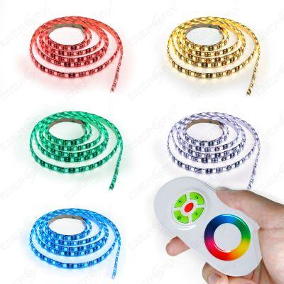 LED RGB Strip mehrfarbig mit Touch Fernbedienung Komplett Set 3m 7m 10m 15m