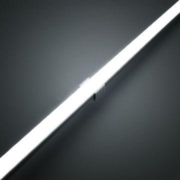 led aluminium schiene alu bar strip streifen rigid lichtband leuchtmittel ebay. Black Bedroom Furniture Sets. Home Design Ideas