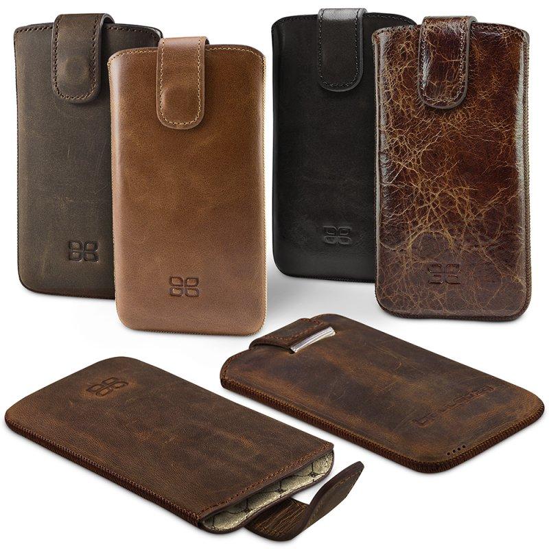 apple iphone 6 plus 5 5 zoll leder h lle tasche case etui bouletta multicase ebay. Black Bedroom Furniture Sets. Home Design Ideas