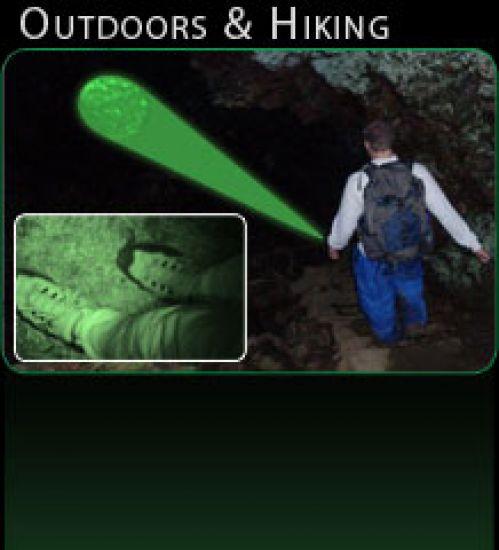 Laser Genetics Lampe ND3x40 Taschenlampe für Such- und Rettungseinsätze
