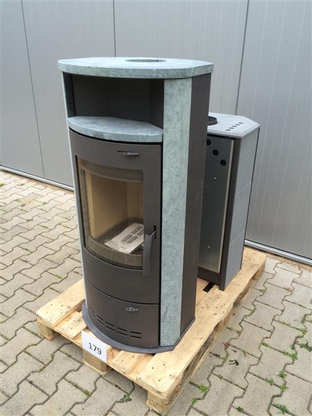 kaminofen ofen kamin hamburg v3 gussgrau naturstein 2 wahl. Black Bedroom Furniture Sets. Home Design Ideas
