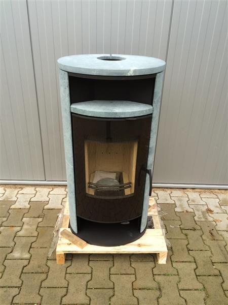 kamin kaminofen ofen h m basic plus schwarz naturstein 2 wahl ebay. Black Bedroom Furniture Sets. Home Design Ideas