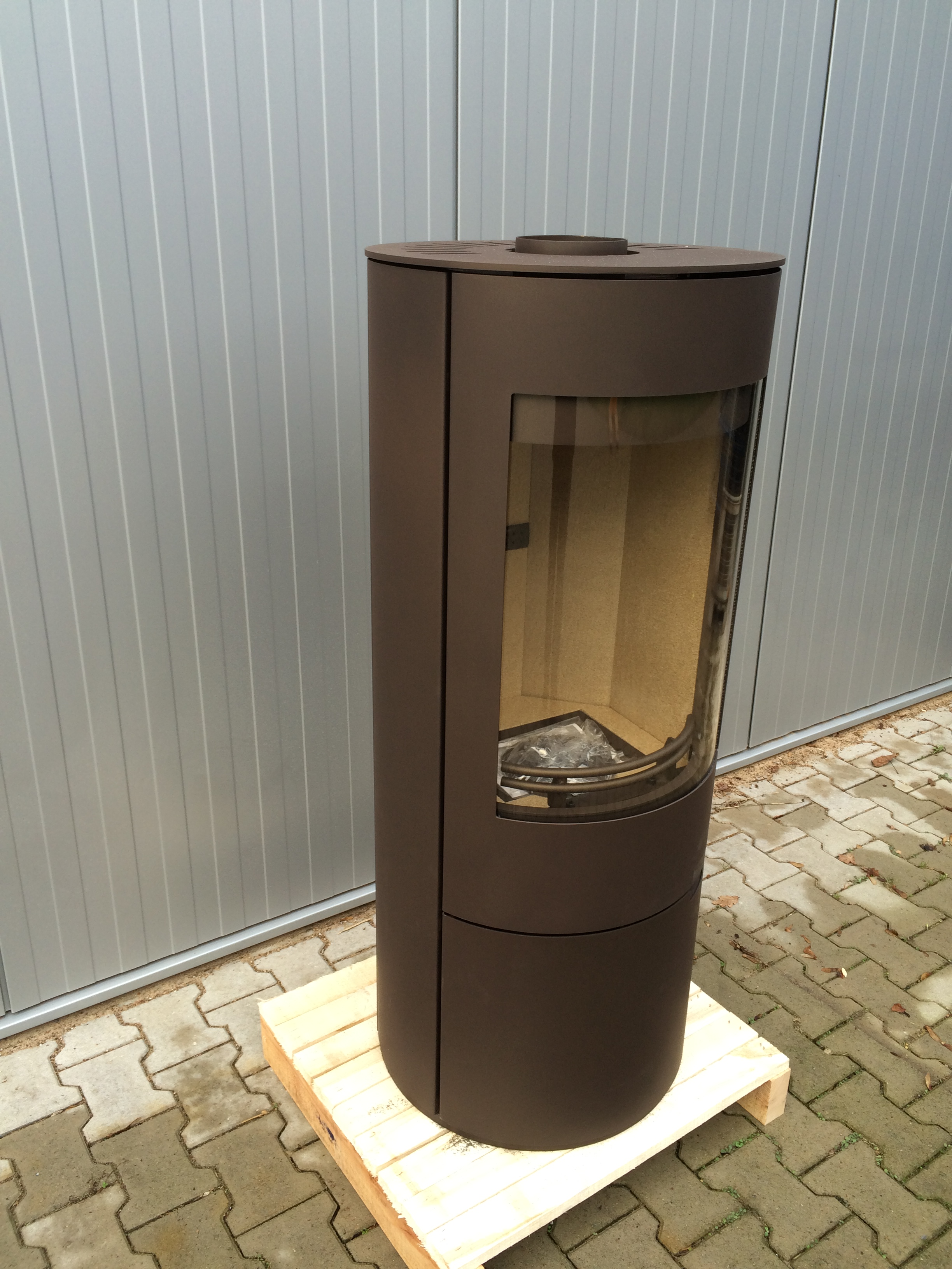 kaminofen kamin schwedenofen ofen h m evo stahl braun 2 wahl ebay. Black Bedroom Furniture Sets. Home Design Ideas