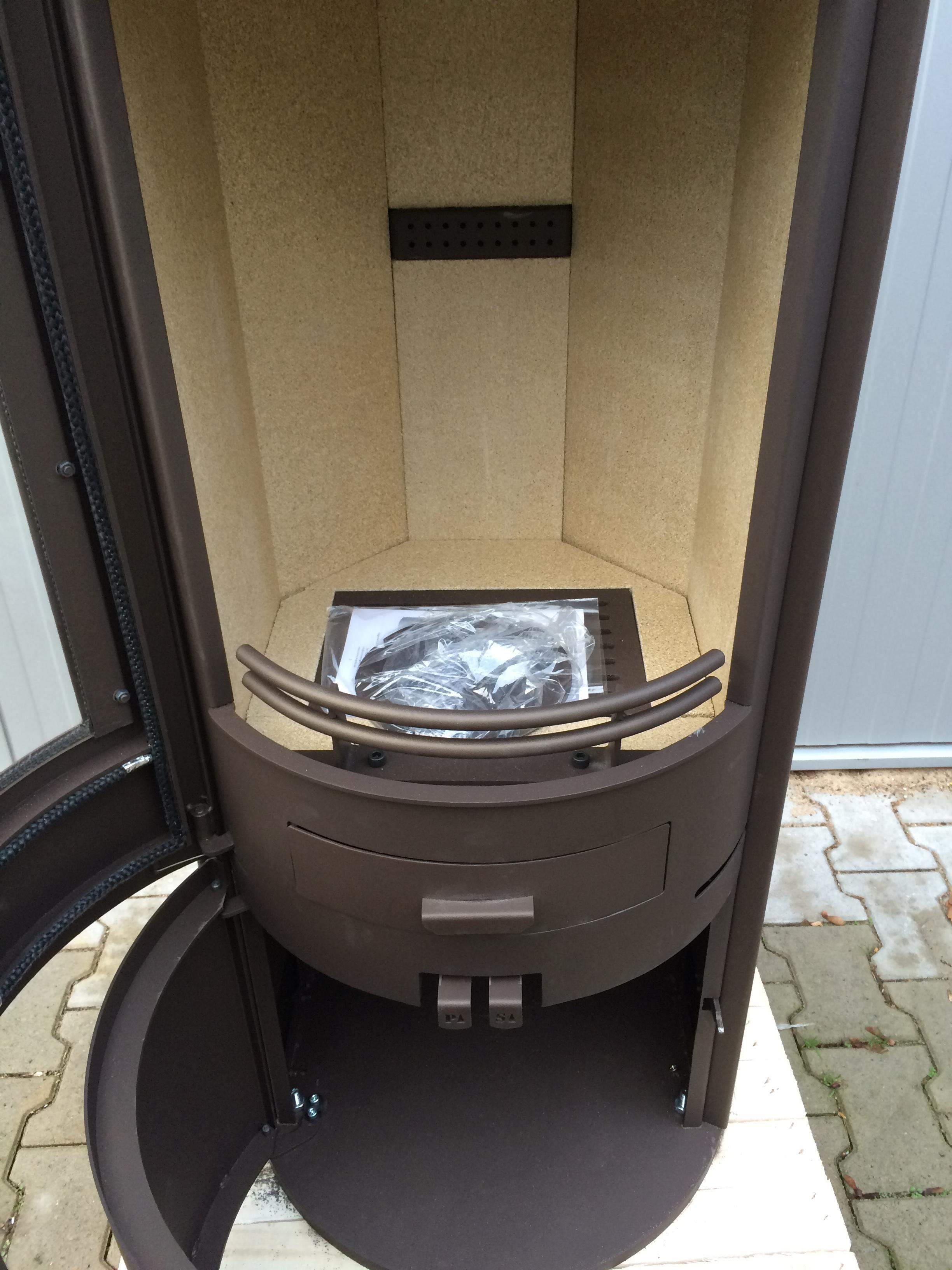kaminofen kamin schwedenofen ofen h m evo stahl braun 2 wahl. Black Bedroom Furniture Sets. Home Design Ideas