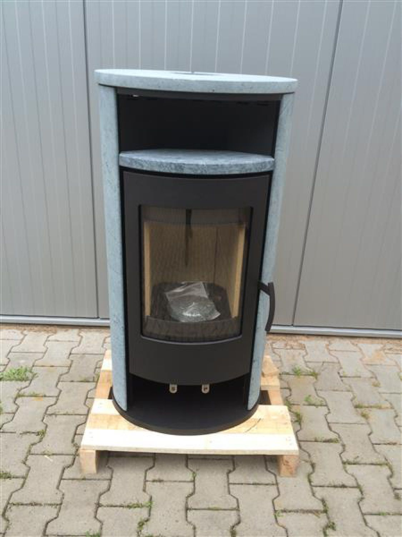 h m kaminofen basic 2 0 schwarz naturstein 2 wahl ebay. Black Bedroom Furniture Sets. Home Design Ideas