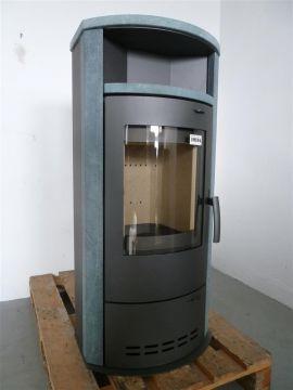 kaminofen dauerbrandofen hamburg v4 gussgrau naturstein 2 wahl ebay. Black Bedroom Furniture Sets. Home Design Ideas