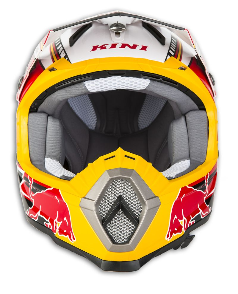 kini red bull cross helm revolution schwarz rot weiss m ebay. Black Bedroom Furniture Sets. Home Design Ideas