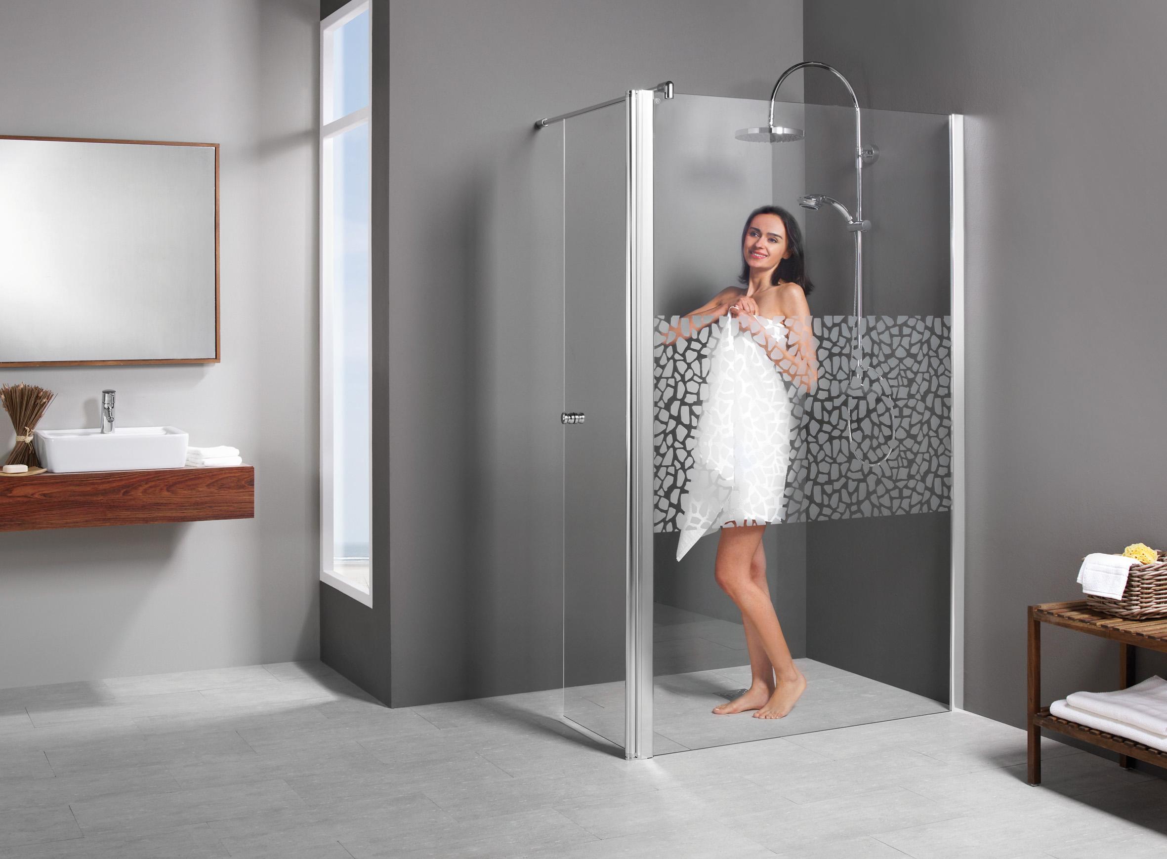 duschkabine dusche entra walk in duschwand bewegl blende. Black Bedroom Furniture Sets. Home Design Ideas