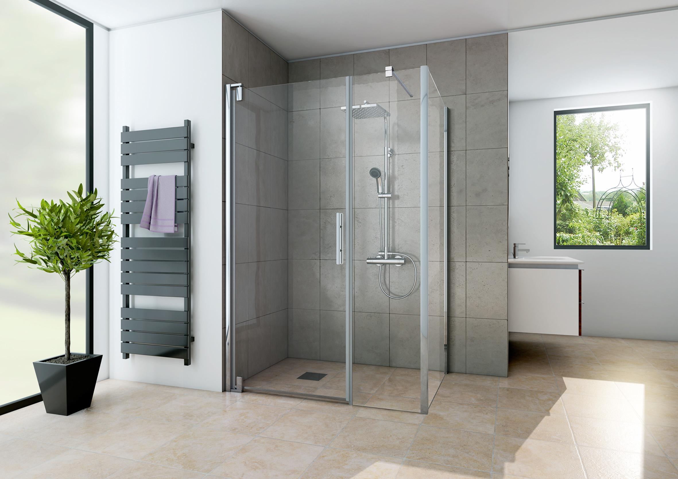 duschkabine dusche europa design dreht r blende seitenwand 120x100x200 ebay. Black Bedroom Furniture Sets. Home Design Ideas