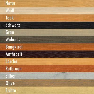 Teakholz Farbe