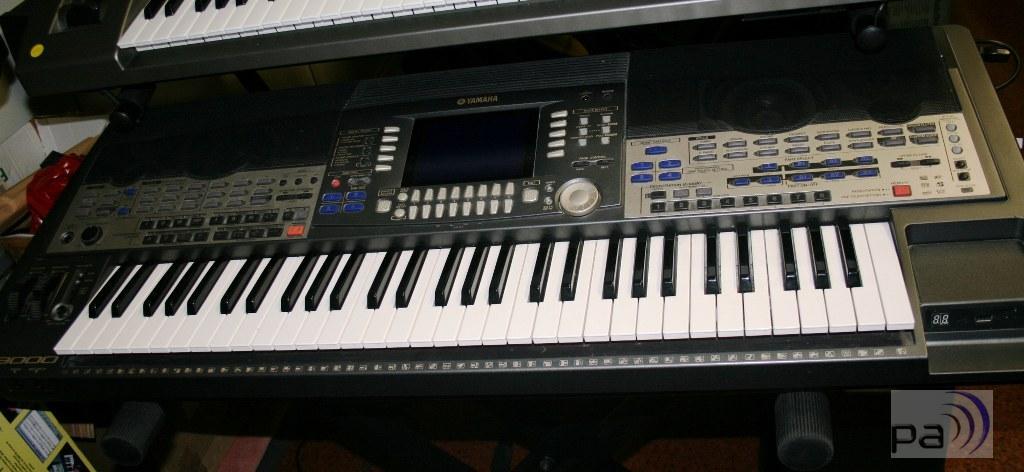 yamaha keyboard psr 9000 gebr ebay. Black Bedroom Furniture Sets. Home Design Ideas