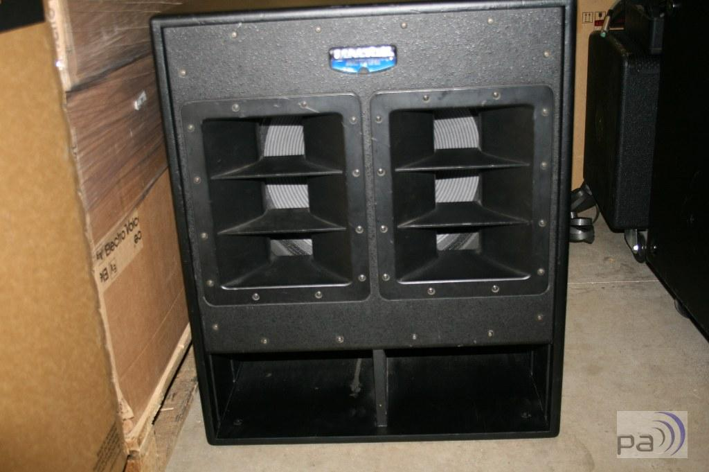 mackie swa1801 18 zoll subwoofer system gebraucht ebay. Black Bedroom Furniture Sets. Home Design Ideas