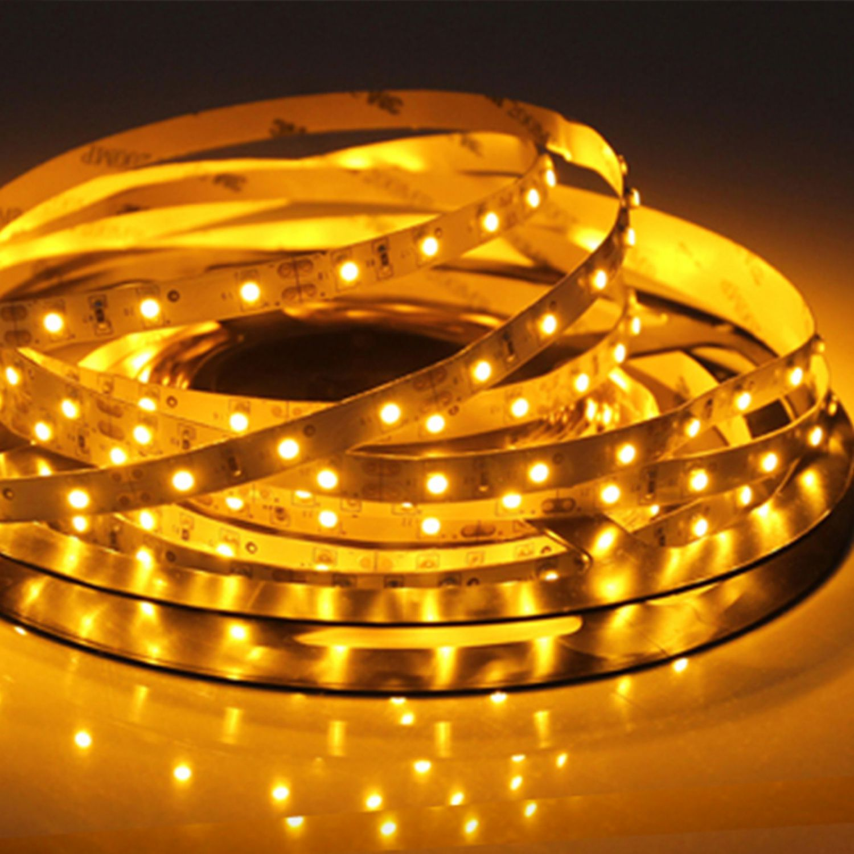 led lichtband 5 meter strip 12v ip20 in warmweiss streifen. Black Bedroom Furniture Sets. Home Design Ideas