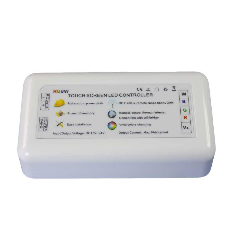 Led steuerger t 2 4g rgbw wifi wlan 4 kanal rgb w milight for Koch 4 kanal led funkfernsteuerung