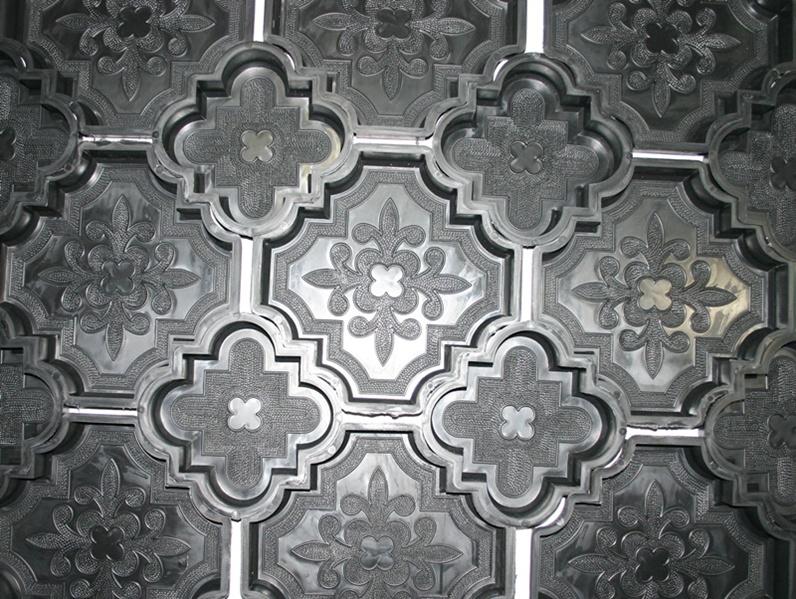 gie formen beton 10 st f r dekorative terrassen pflaster. Black Bedroom Furniture Sets. Home Design Ideas