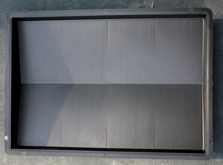 mauerabdeckung 362 glatt 27 x 39 cm kunststoff form ebay. Black Bedroom Furniture Sets. Home Design Ideas