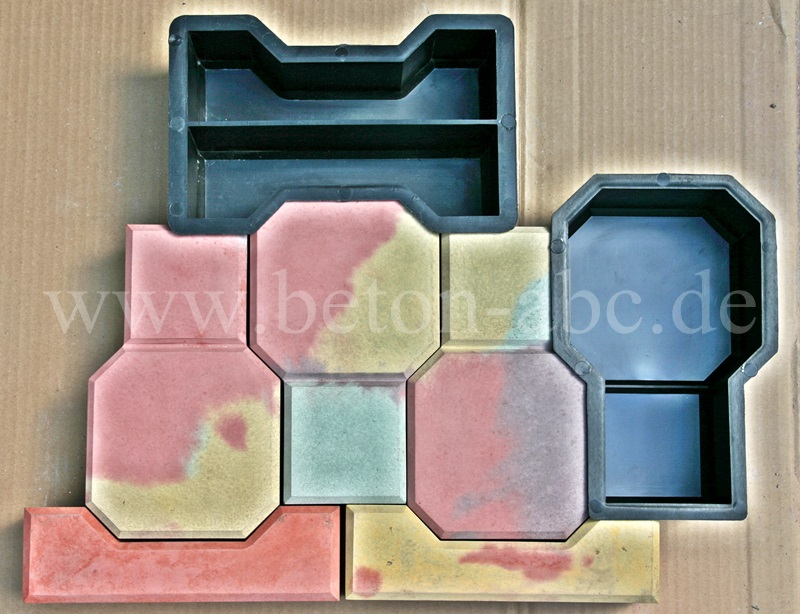 schalungsform 11 10 1 stck f pflastersteine 6cm birne. Black Bedroom Furniture Sets. Home Design Ideas