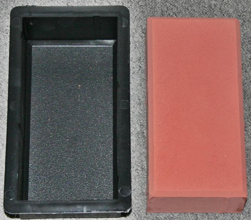 formen 10 st ck f r rechteck pflaster 20 x 10 x 6 cm rauh ebay. Black Bedroom Furniture Sets. Home Design Ideas