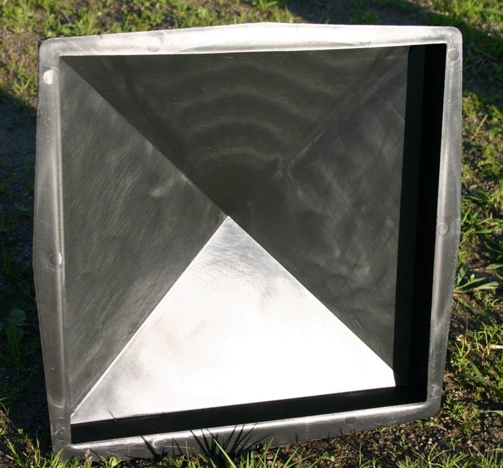 giessform f r pfeiler 30 cm x 30 cm schalungsform nr 374 ebay. Black Bedroom Furniture Sets. Home Design Ideas