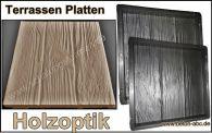 eine gie form f r beton platten holzoptik 30 x 30cm 100. Black Bedroom Furniture Sets. Home Design Ideas