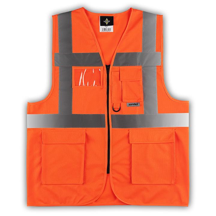 korntex waistcoats warnweste mit taschen rei verschluss 3 farben ebay. Black Bedroom Furniture Sets. Home Design Ideas