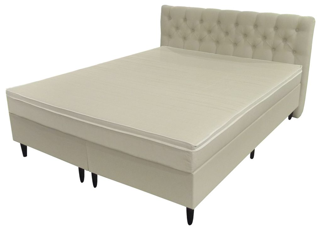 boxspringbett 160x200cm hotelbett polsterbett. Black Bedroom Furniture Sets. Home Design Ideas