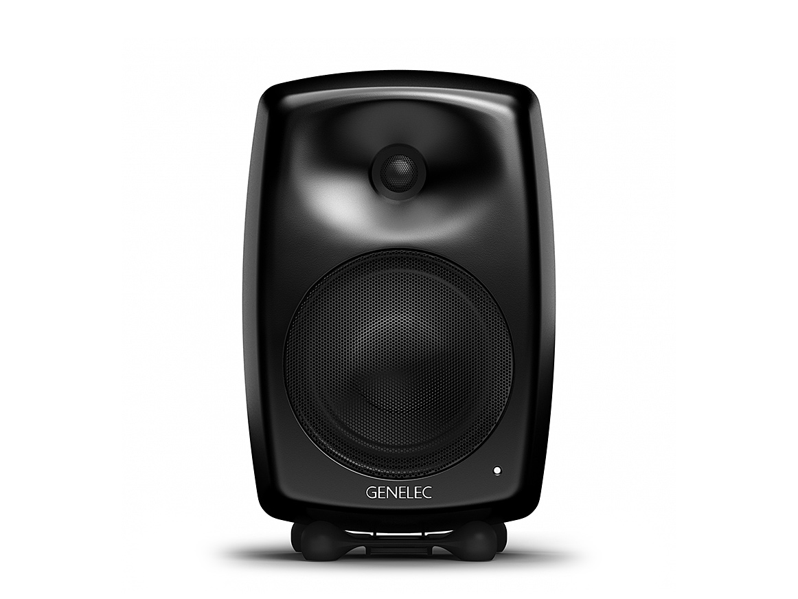 genelec g four 2 wege lautsprecher schwarz paar ebay. Black Bedroom Furniture Sets. Home Design Ideas
