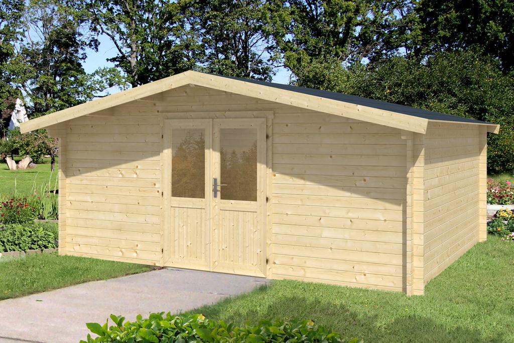 gartenhaus lisa 6 500 x 295 cm 34 mm doppelnut ohne boden ebay. Black Bedroom Furniture Sets. Home Design Ideas