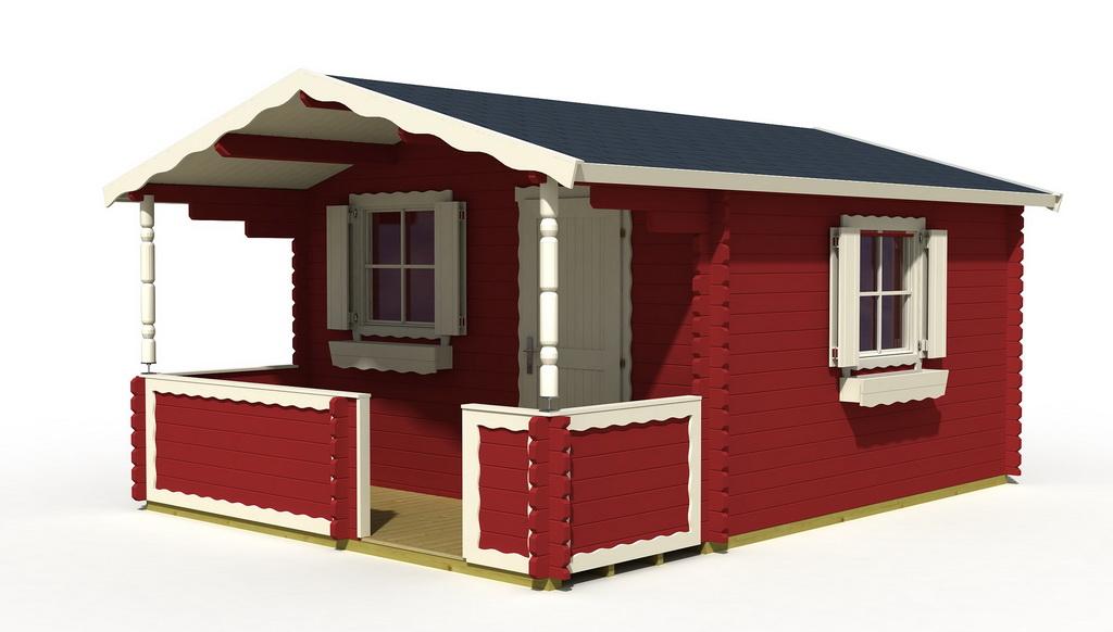 gartenhaus corsica 28 380 x 380 cm 28mm wandbohlen 130cm terrasse mit boden ebay. Black Bedroom Furniture Sets. Home Design Ideas
