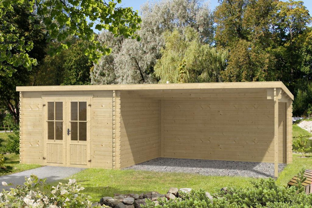 gartenhaus ontario 312 x 701 cm 40 mm doppelnut ohne boden ebay. Black Bedroom Furniture Sets. Home Design Ideas